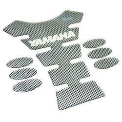 Tank pad carbon kręgosłup yamaha