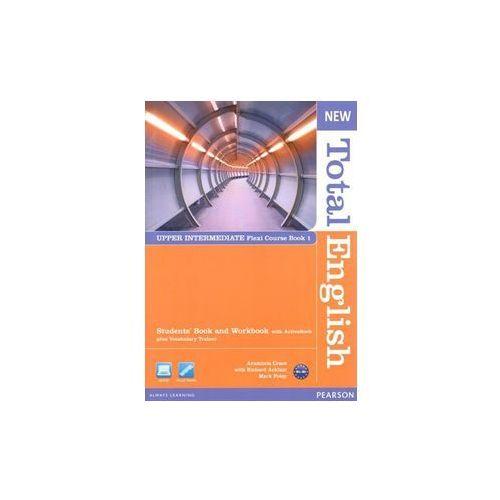 New Total English Upper Intermediate Flexi Course Book 1 (opr. miękka)