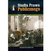 Studia Prawa Publicznego nr 3/2013 (opr. miękka)