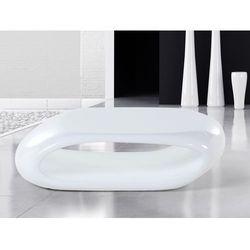 Stolik kawowy – bialy – stól – lawa – wlókno szklane - NESSUS