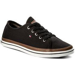 22317bc74f2c6 Tenisówki TOMMY HILFIGER - Iconic Kesha Sneaker FW0FW02823 Black 990