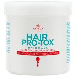 KALLOS KJMN HAIR PRO-TOX Maska do Włosów z Keratyną, Kolagenem i Kwasem Hialuronowym 500 ml