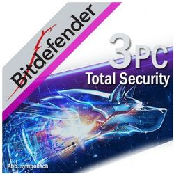 BitDefender Total Security 3 PC / 1 Rok