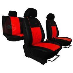 Pokrowce samochodowe EXCLUSIVE - POK-TER Skórzane Czerwone BMW Seria 1 E81/E87 2004-2013 - Czerwony