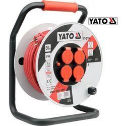 YATO Przedłużacz na bębnie plastikowym 50 m, przewód 3x2,5mm2 (YT-8108)