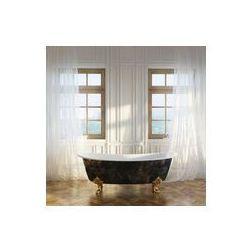 Foto naklejka samoprzylepna 100 x 100 cm - Luksusowe wanny retro w nowoczesnym wnętrze pokoju 1 wersji