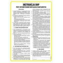 Instrukcja BHP przy wykonywaniu instalacji sanitarnych