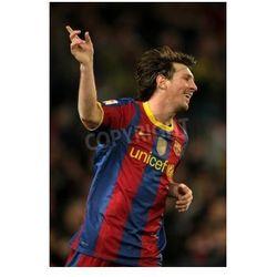 Fototapeta Leo Messi Barcelona świętuje gola podczas meczu Ligi Hiszpańskiej pomiędzy FC Barcelona, Real Sociedad na stadionie
