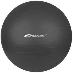 Piłka gimnastyczna FITBALL śr.55 cm + pompka Spokey (czarna)
