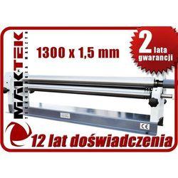 WALCARKA ZWIJARKA WALCE DO BLACHY MAKTEK 1.5mm x 1300mm EWIMAX