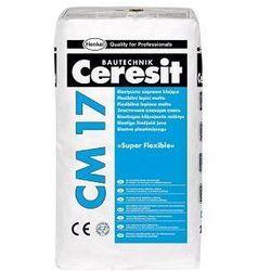 Klej elastyczny SUPER FLEXIBLE CM 17 25kg Ceresit