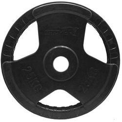 Obciążenie gumowane olimpijskie 25 kg NRB-7
