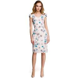 794c8bdb66 suknie sukienki sukienka koronkowa s moriss niebieska (od sukienka ...