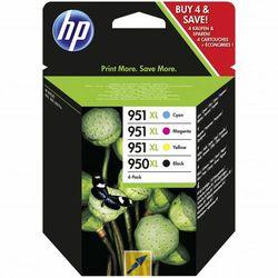 Zestaw tuszy HP 950XL i 951XL / C2P43AE CMYK do drukarek (Oryginalny)