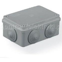 PAWBOL PUSZKA S-BOX 206 N/T 120x80x50 6 DŁAWIKÓW SZARA IP 55