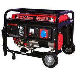 Generator prądu HOLIDA 3000 jedna faza z rozruchem el. 3kW