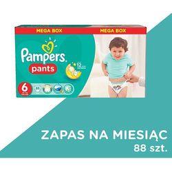 PAMPERS Pants 6 Ex Large 88szt Monthly Mega Box Pieluchomajtki Zapas n