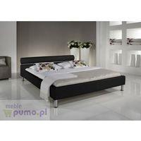 Eleganckie łóżko ANGEL w kolorze czarnym