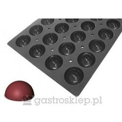 Mata silikonowa Moul'Flex Pro do ciasek - półkul | D-1704-53