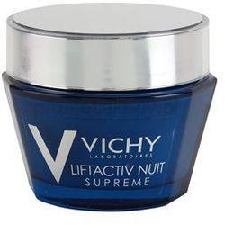Vichy Liftactiv Supreme ujędrniająco - przeciwzmarszczkowy krem na noc z efektem liftingującym + do każdego zamówienia upominek.