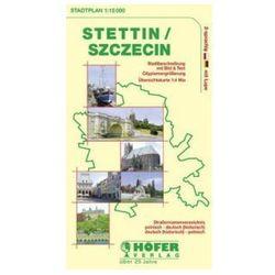 Höfer Stadtplan Stettin. Szczecin