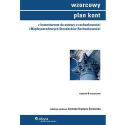 Wzorcowy Plan Kont Z Komentarzem Do Ustawy O Rachunkowości I Międzynarodowych Standardów Rachunkowości (opr. twarda)