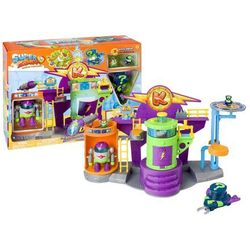 Super Zings laboratorium + figurki Profesor K i Enigma + robot + pojazd Magic Box Superzings