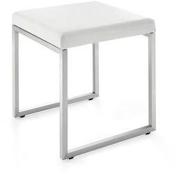 Zack CENIUS Stołek - Krzesło Niskie - Białe