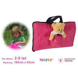 Śpiwór do spania dla dziecka, 155x 63 cm, TULOKO - Różowy