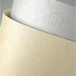 Karton ozdobny Premium Floral Galeria Papieru, kremowy, format A4, opakowanie 20 arkuszy, 203302