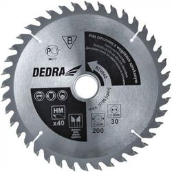 Tarcza do cięcia DEDRA H19040 190 x 30 mm do drewna