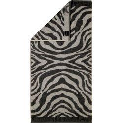 Cawo Frottier ręcznik Zebra czarny, 30 x 50 cm