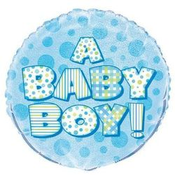 Balon foliowy na Baby Shower - 47 cm