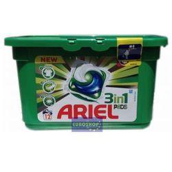 Ariel kapsułki 3 w 1 do tkanin białych 12 szt.
