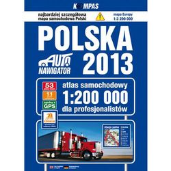 Polska Atlas samochodowy dla profesjonalistów 1:200 000 (opr. twarda)
