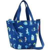 f641fdcea5541 Torba na zakupy dla dzieci Reisenthel Shopper XS kids abc niebieska  (RIK4066)