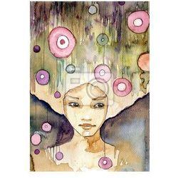 Obraz magiczny portret MŁODEJ Dziewczyny