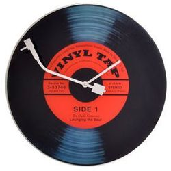Zegar ścienny Vinyl Tap