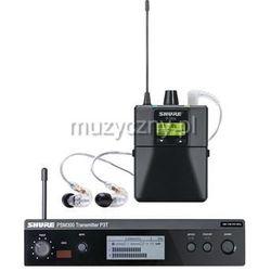Shure PSM 300 Premium P3TRA215CL bezprzewodowy system monitorowy: nadajnik, odbiornik P3RA, słuchawki SE215 Płacąc przelewem przesyłka gratis!