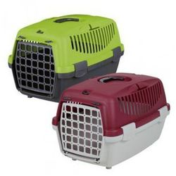 Capri I - transporter dla kota i małego psa Kolor:Jasnoszary / Czerwony