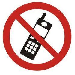 Zakaz używania telefonów komórkowych