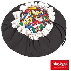 PLAY&GO Worek na zabawki/Mata do zabawy - Black