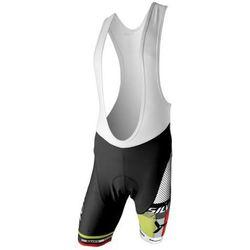 Męskie spodnie rowerowe lacl Silvini TEAM MP839 black