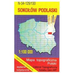 Sokołów Podlaski Nadbużański Park Krajobrazowy mapa 1:100 000 WZKart (opr. miękka)