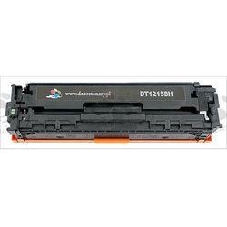 Toner zamiennik DT1215BH do HP Color LaserJet CP1210 CP1215 CP1215n CP1217 CP1510 CP1510j CP1510n CP1515 CP1515n CP1518 CP1518ni CM1312 CM1312mfp, pasuje zamiast HP CB540A 125A Black, 2200 stron