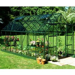 Duża szklarnia ogrodowa Halls Magnum Green 2,57 x 4,45 m