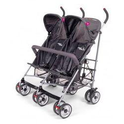 Wózek spacerowy dla bliźniaków TWINBUGGY Antracyt