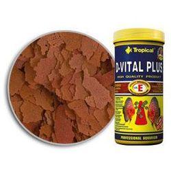 Tropical D-Vital Plus pokarm płatkowy dla paletek z witaminą E 600ml/110g