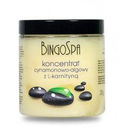 BingoSpa Koncentrat cynamonowo - algowy z L-karnityną 250ml
