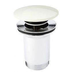 KFA Spust Umywalkowy Klik-Klak Biały 660-554-40